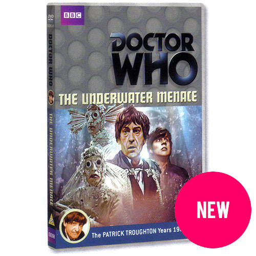 Doctor Who: The Underwater Menace DVD (Region 2) SIGNED COPY